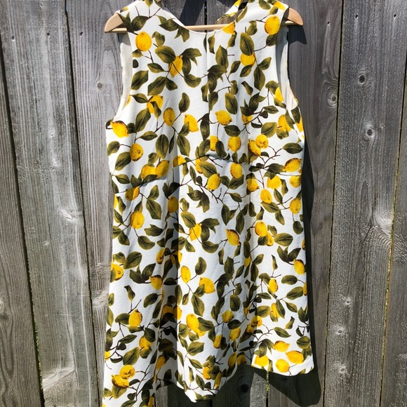 db85c0f3 Zara Lemon Dress Size L. M_5abfc9a0fcdc3163e4091398